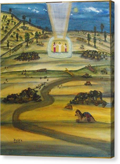 Transfiguration Of Jesus Canvas Print
