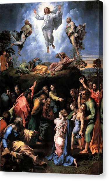Transfiguration Reproduction Art Work Canvas Print