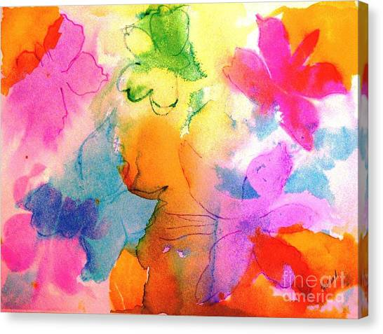 Transformed Into His Image Canvas Print