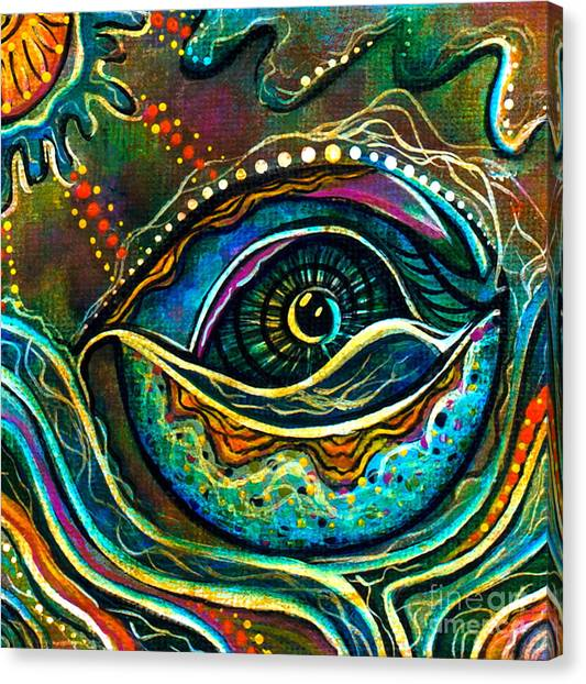 Transitional Spirit Eye Canvas Print