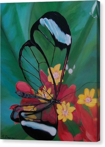 Transparent Elegance Canvas Print