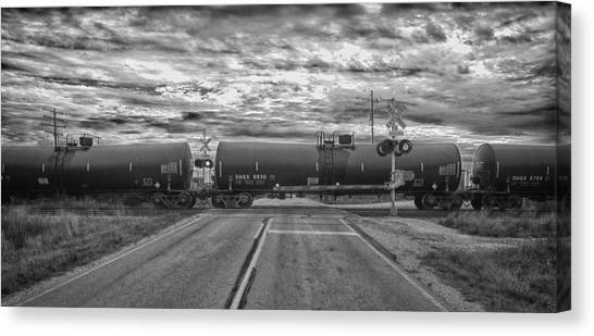Transport Canvas Print by Ricky L Jones