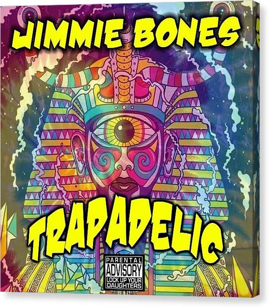 Hip Hop Canvas Print - Trapadelic by King Tut