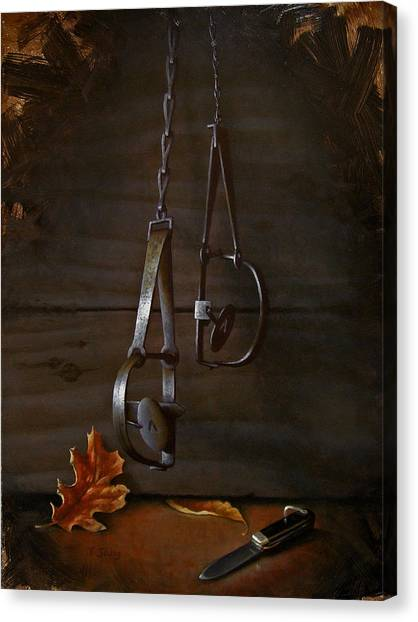Traps Canvas Print by Timothy Jones