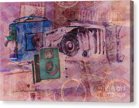 Travel Log Canvas Print