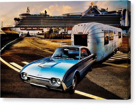 Travelin' In Style Canvas Print