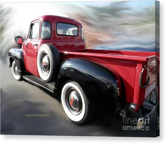 Traveling Back In Time Canvas Print