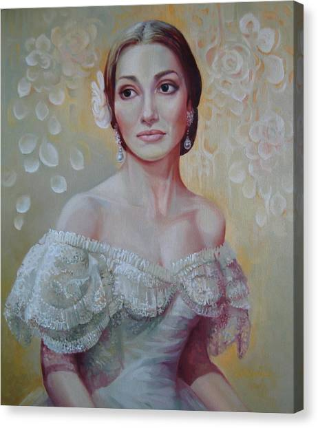 Traviata Canvas Print