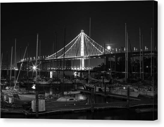 Treasure Island Boats Canvas Print