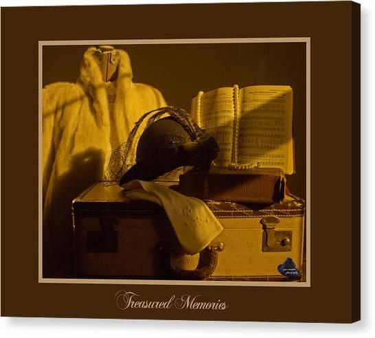 Treasured Memories Canvas Print by Gina Munger