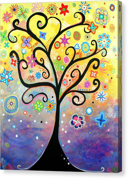 Tree Art Fantasy Abstract Canvas Print