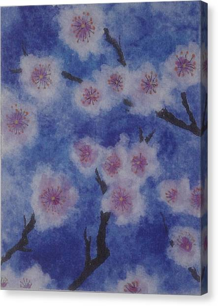 Tree Blossom Canvas Print by Catherine Arcolio