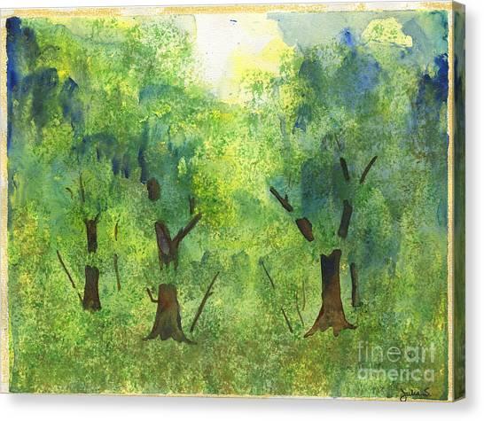 Tree Gazing Canvas Print