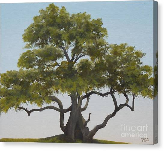 Tree Home I Canvas Print