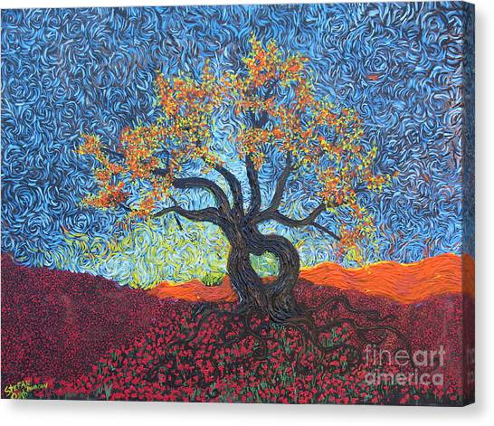 Tree Of Heart Canvas Print