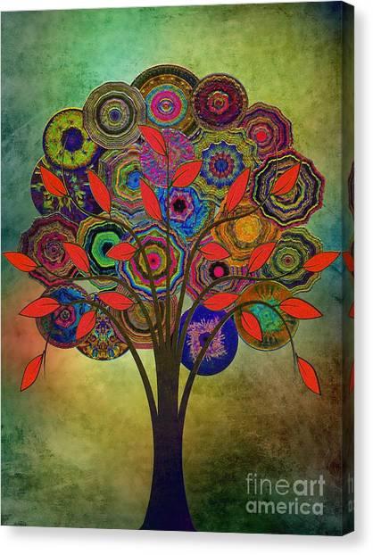 Tree Of Life 2. Version Canvas Print