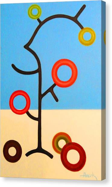 Tree Of Life Canvas Print by Alexander Almark
