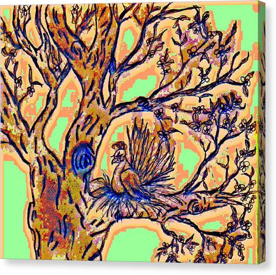 Tree Of Life Canvas Print by Rebecca Flaig