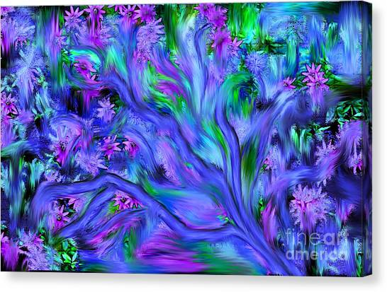 Tree Of Peace And Serenity Canvas Print