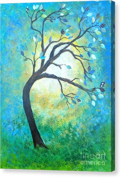 Tree Tango Canvas Print