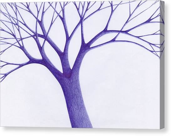 Tree - The Great Hand Of Nature Canvas Print