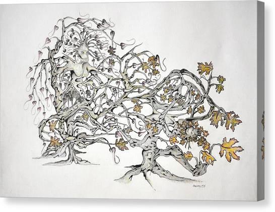 Tree Witch Canvas Print by Glenn Calloway