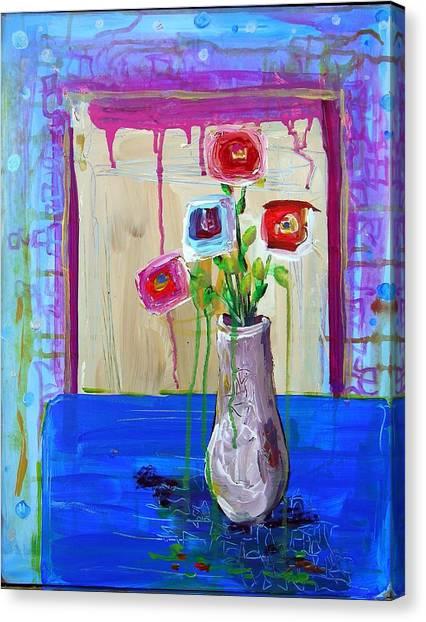 Tres Amigos Canvas Print by Dawn Gray Moraga