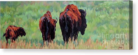 TRI Canvas Print by Patricia A Griffin