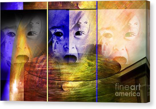 Triad Emotive Canvas Print