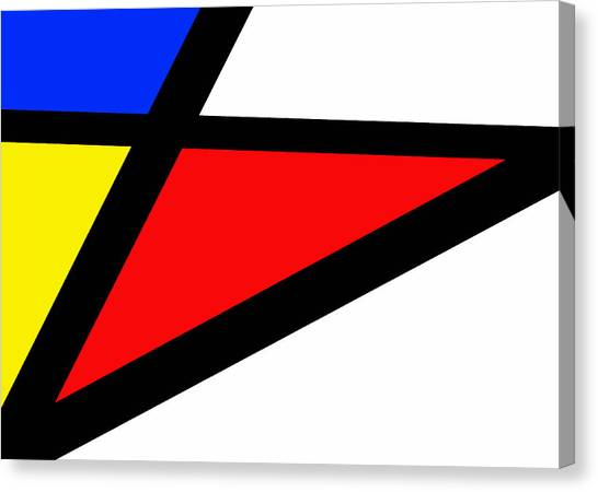 Triangularism II Canvas Print