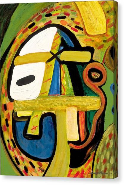 Tribal Mood Canvas Print