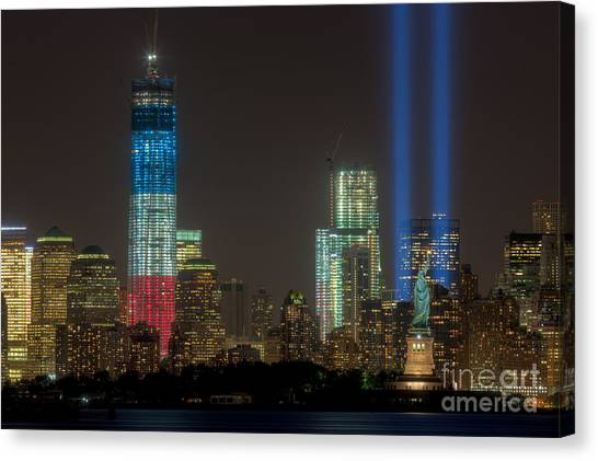 Tribute In Light Xiii Canvas Print