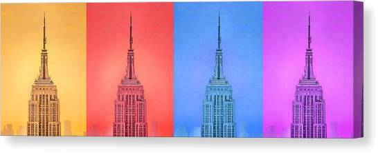 Andy Warhol Canvas Print - Tribute To Andy Warhol 2 by Az Jackson