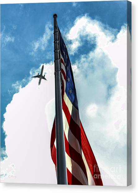Tribute To The Day America Stood Still Canvas Print