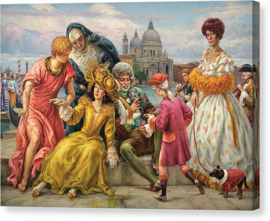 Tribute To Veronese Canvas Print