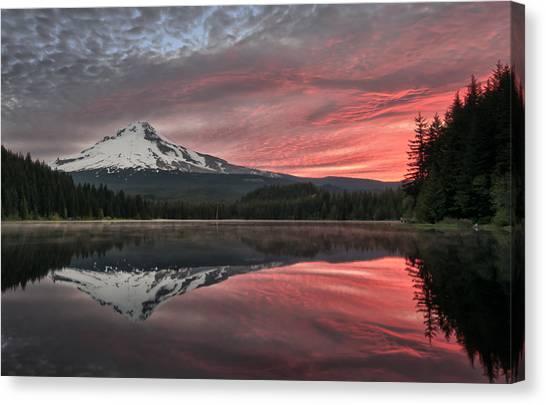Trillium Sunrise Canvas Print