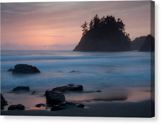 Trinidad Sunset - Another View Canvas Print
