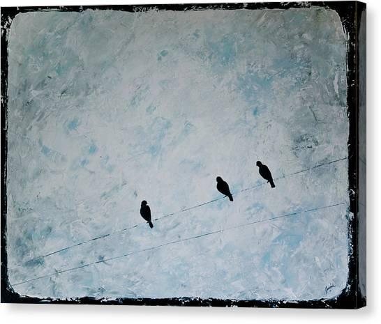 Trio Canvas Print by Jesska Hoff