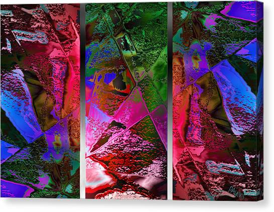Triptych Chic Canvas Print