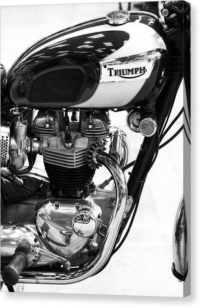 Triumph Bonneville Canvas Print