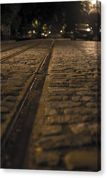 Trollies Came First Canvas Print by Michael Williams