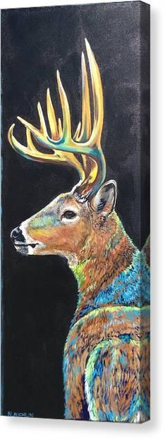 Trophy Buck Canvas Print