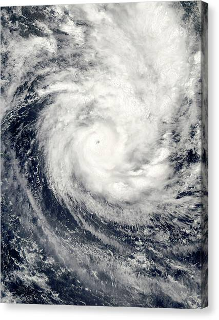 Cyclones Canvas Print - Tropical Cyclone Percy by Nasa/science Photo Library