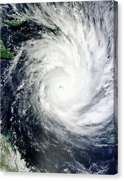 Cyclones Canvas Print - Tropical Cyclone Yasi by Nasa/science Photo Library