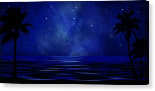Tropical Dreams Wall Mural Canvas Print