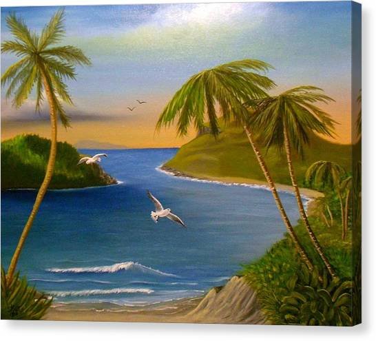 Tropical Escape Canvas Print