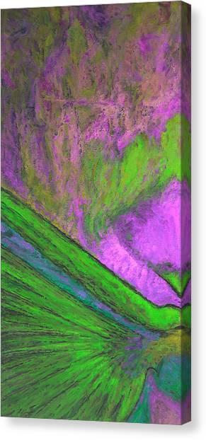 Abstract Sea Coral Canvas Print