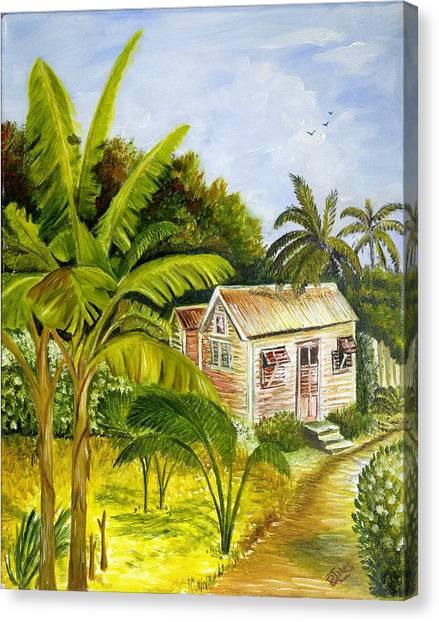 Tropical Haven Canvas Print