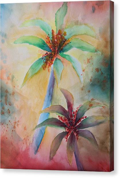Tropical Image Canvas Print