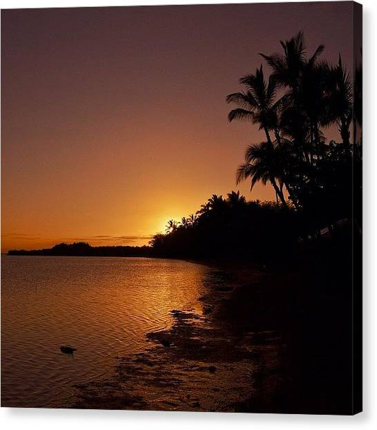 Hawaii Canvas Print - Tropical Island Dreams- South Shore by Brian Governale